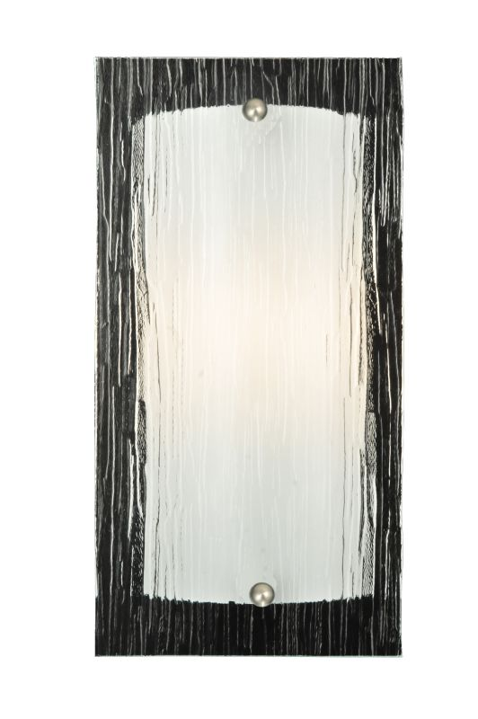 "Meyda Tiffany 111413 6"" W Quadrato Mist Wall Sconce Mist Indoor"