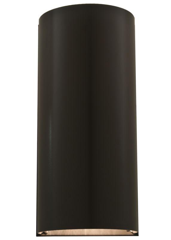 """Meyda Tiffany 111855 5.5"""" W Dark Sky Wall Sconce Timeless Bronze"""