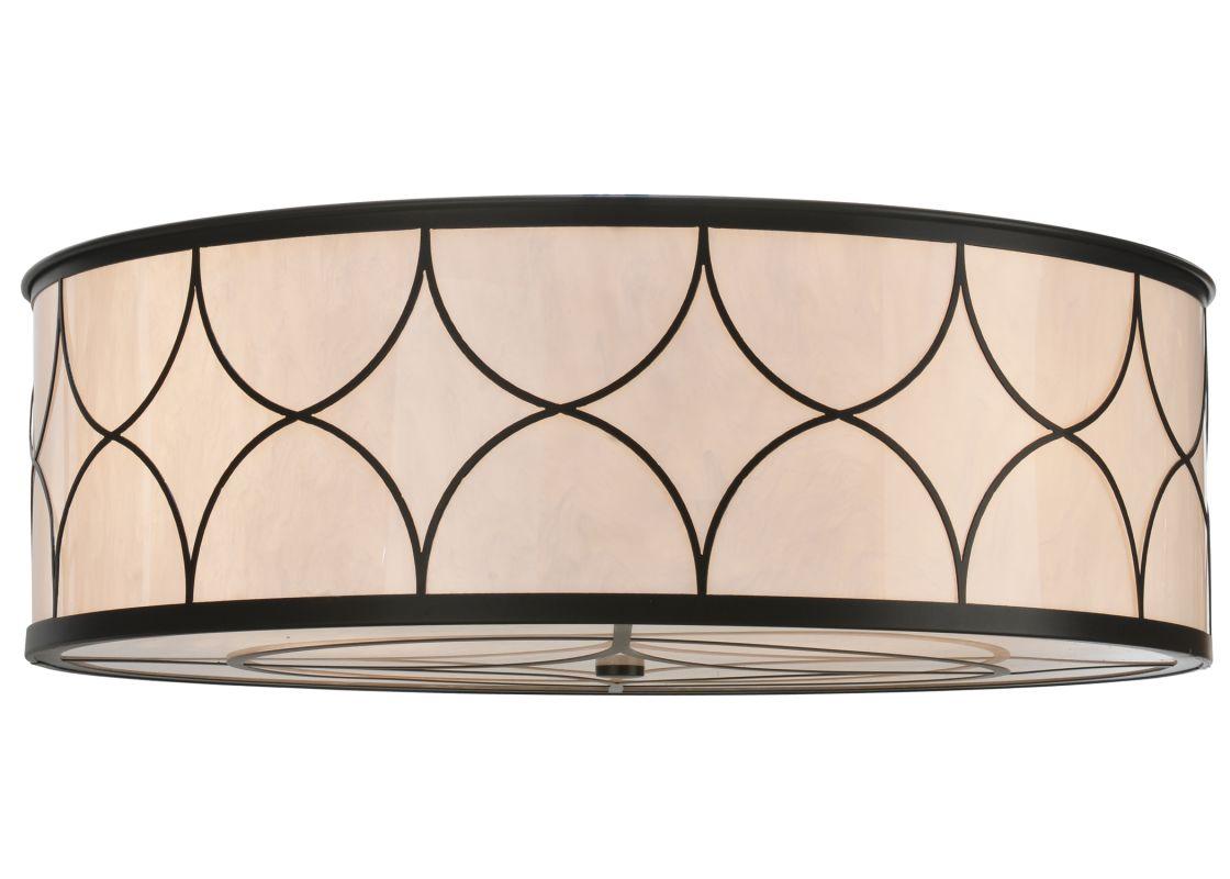 "Meyda Tiffany 114701 36"" W Cilindro Deco Flush Mount Ceiling Fixture"