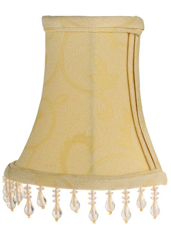 "Meyda Tiffany 117178 5.25"" W X 6"" H Trumpet Cream Half Replacement"