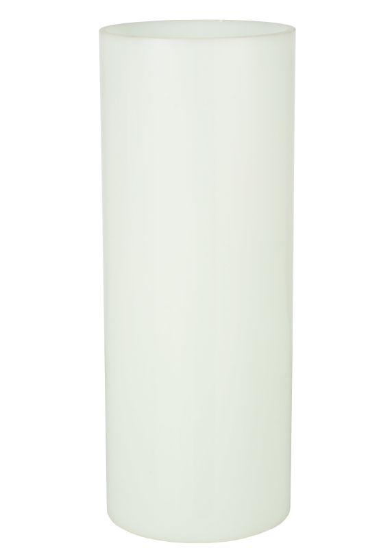 "Meyda Tiffany 125326 4.5"" W X 11.5"" H Cylinder White Replacement Shade"