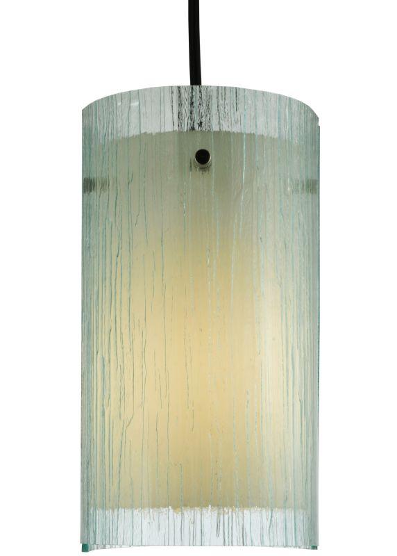 "Meyda Tiffany 134242 6"" W Quadrato Mist Mini Pendant Mist Indoor"
