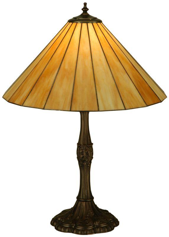 "Meyda Tiffany 137667 26.5"" H Duncan Beige Table Lamp Beige Lamps"