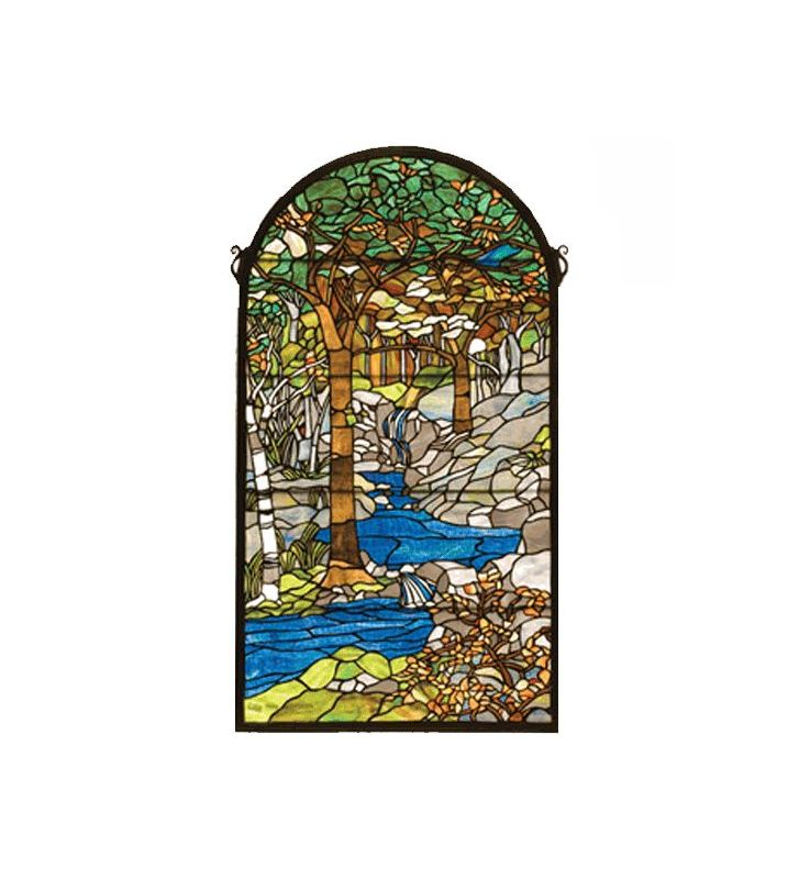 Meyda Tiffany 77530 Stained Glass Tiffany Window from the Tiffany