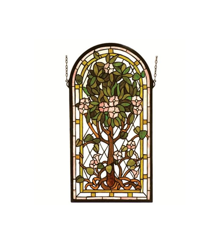 Meyda Tiffany 99049 Stained Glass Tiffany Window from the Arts &
