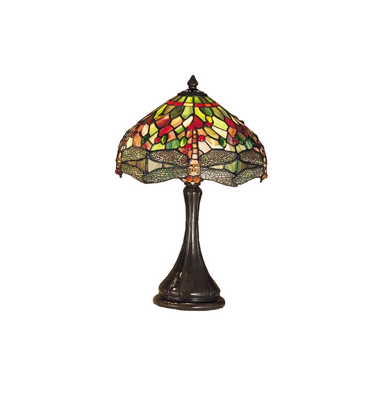 Meyda Tiffany 28460 Stained Glass / Tiffany Accent Table Lamp from the