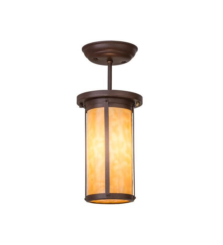 Meyda Tiffany 152231 Overbrook 1 Light Semi-Flush Ceiling Fixture with Sale $616.00 ITEM: bci2558344 ID#:152231 :