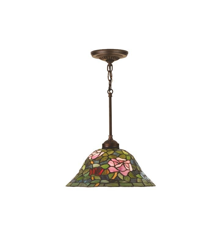 Meyda Tiffany 48920 Stained Glass / Tiffany Down Lighting Pendant from Sale $217.80 ITEM: bci82170 ID#:48920 UPC: 705696489206 :