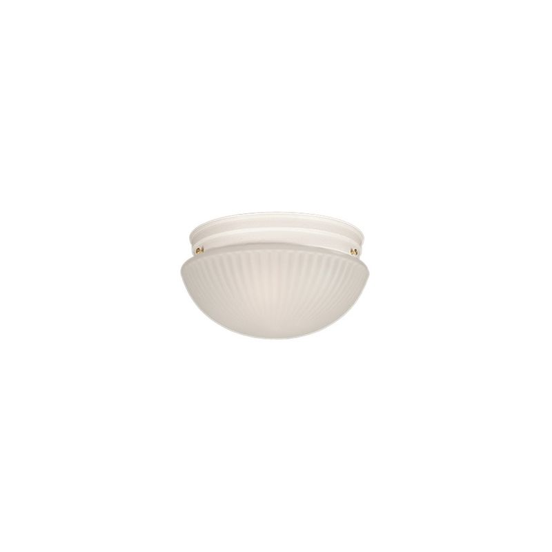 Millennium Lighting 511 1 Light Flush Mount Ceiling Fixture White