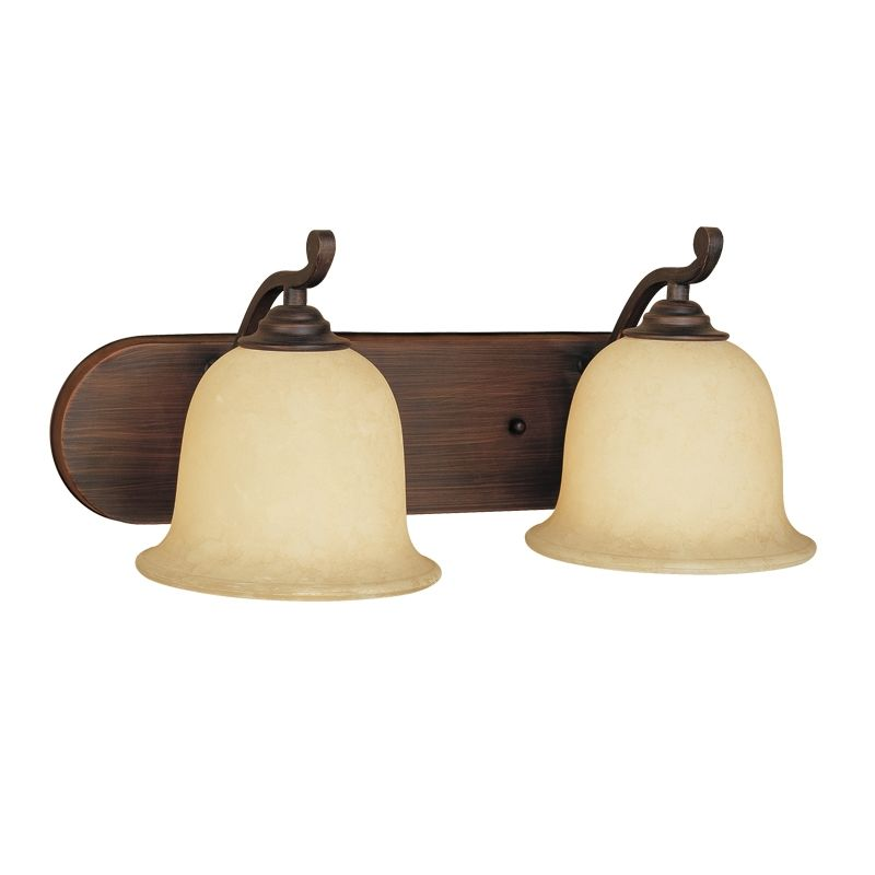 Millennium Lighting 1072 Courtney Lakes 2 Light Bathroom Vanity Light