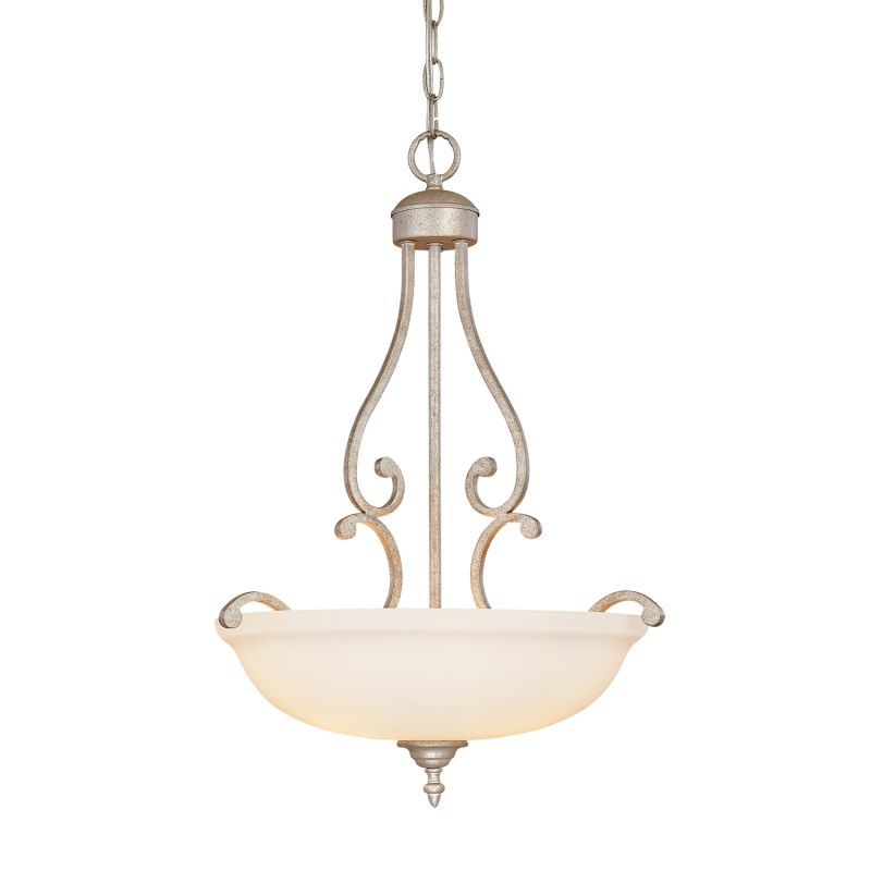 Millennium Lighting 1103 Courtney Lakes 3 Light Pendant Vintage Iron