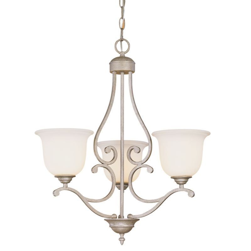 Millennium Lighting 1123 Courtney Lakes 3 Light Single Tier Chandelier