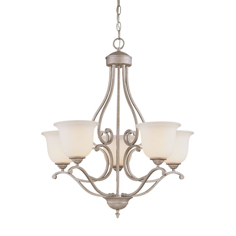 Millennium Lighting 1125 Courtney Lakes 5 Light Single Tier Chandelier Sale $199.90 ITEM: bci2231114 ID#:1125-VI UPC: 842639006431 :