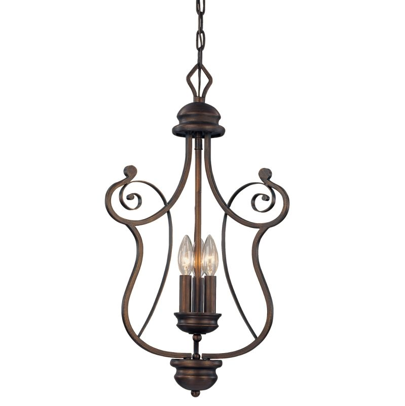 Millennium Lighting 1153 Chateau 3 Light Pendant Rubbed Bronze Indoor Sale $149.90 ITEM: bci2231122 ID#:1153-RBZ UPC: 842639009401 :