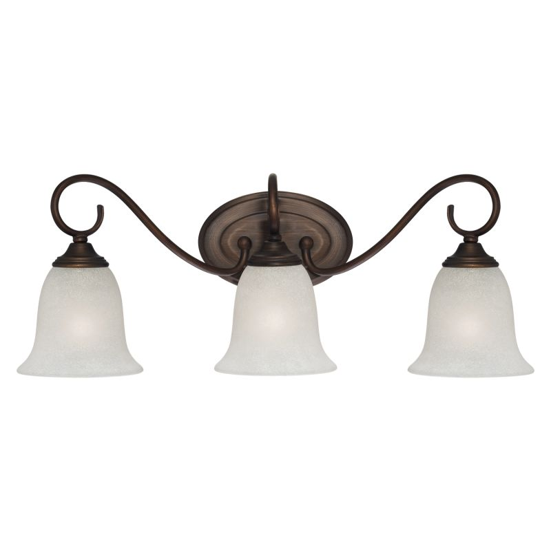 Millennium Lighting 1183 3 Light Bathroom Vanity Light Rubbed Bronze