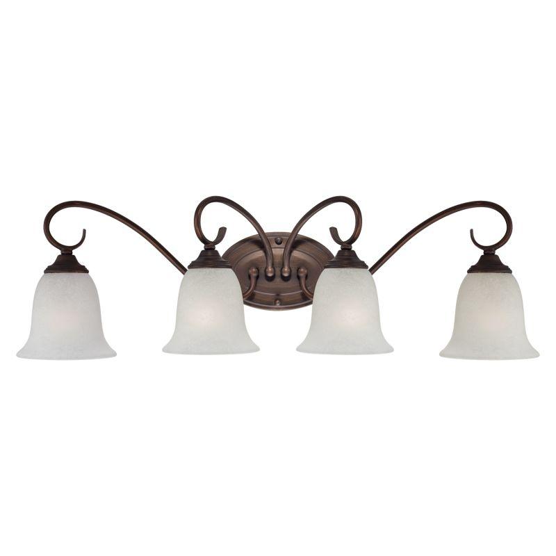 Millennium Lighting 1184 4 Light Bathroom Vanity Light Rubbed Bronze