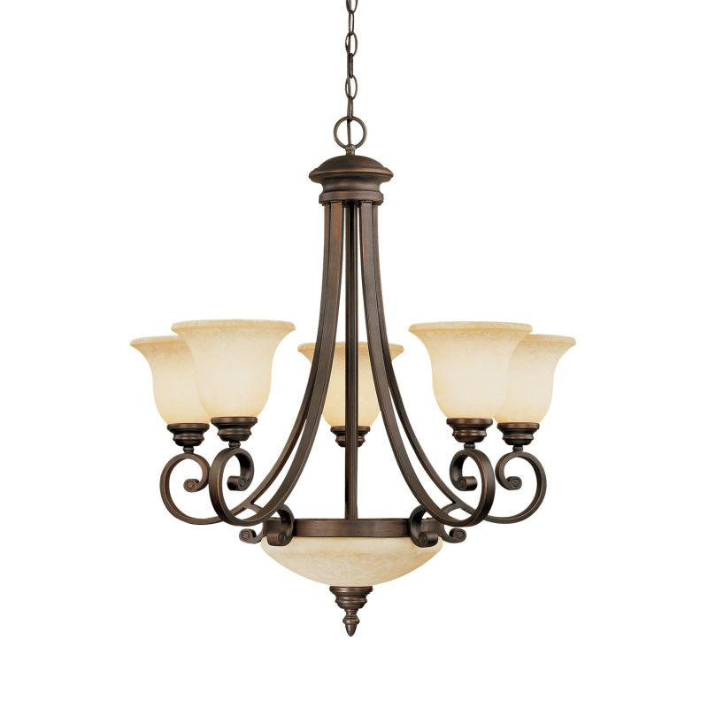 Millennium Lighting 1207 Oxford 7 Light Single Tier Chandelier Rubbed Sale $309.90 ITEM: bci2231132 ID#:1207-RBZ UPC: 842639006851 :