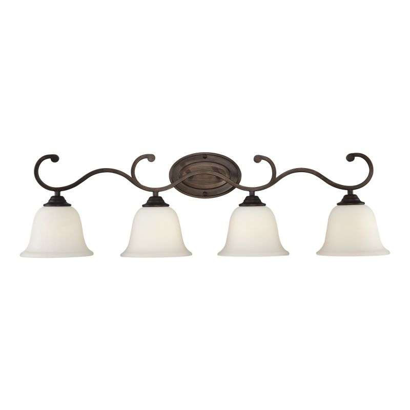 Millennium Lighting 1284 Fulton 4 Light Bathroom Vanity Light Rubbed