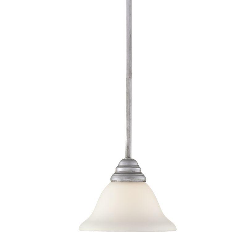 Millennium Lighting 1361 Fulton 1 Light Mini Pendant Rubbed Silver