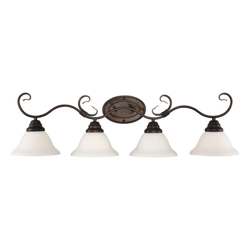 Millennium Lighting 1394 4 Light Bathroom Vanity Light Rubbed Bronze