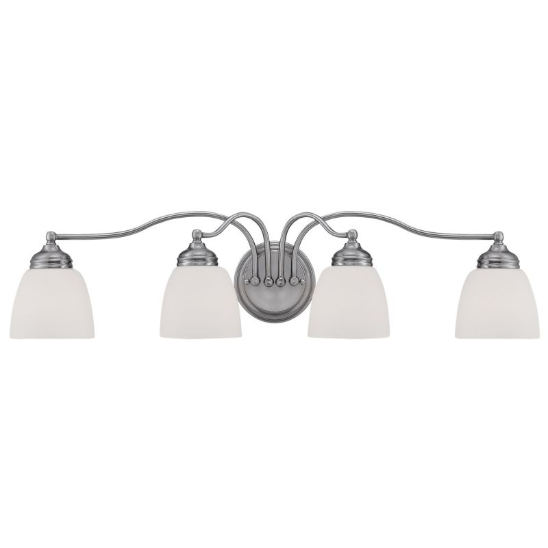 Millennium Lighting 1454 Hastings 4 Light Bathroom Vanity Light Pewter Sale $119.90 ITEM: bci2671876 ID#:1454-PW UPC: 842639015440 :