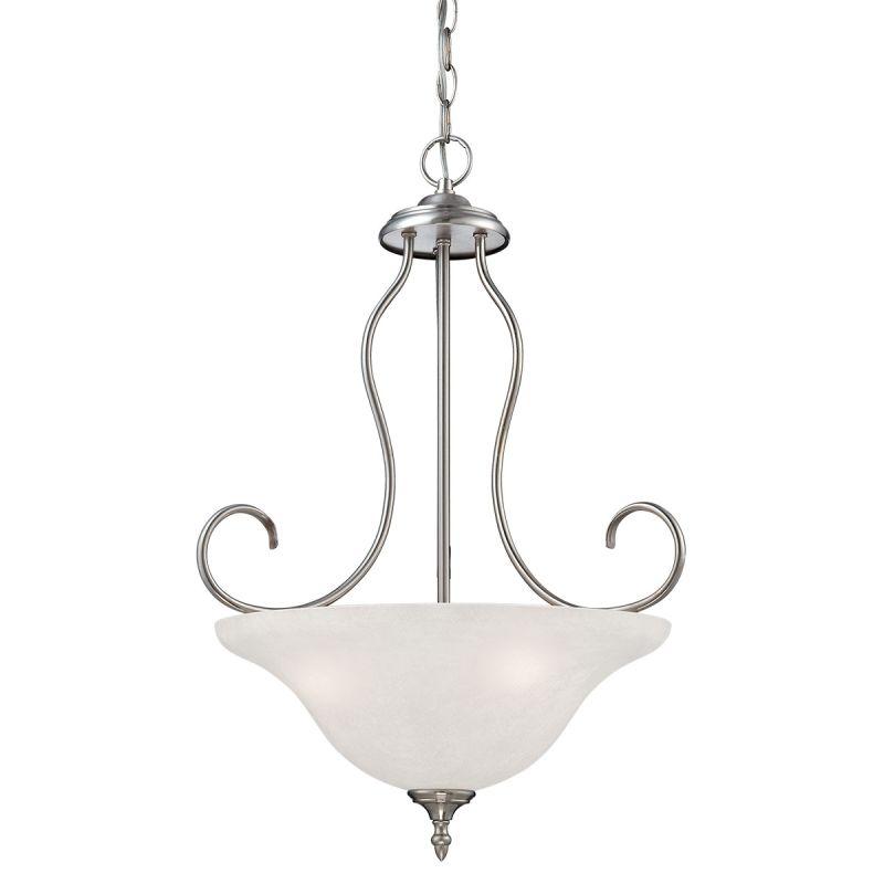 Millennium Lighting 1533 Cleveland 3 Light Bowl Shaped Pendant Satin Sale $129.90 ITEM: bci2353766 ID#:1533-SN UPC: 842639013613 :