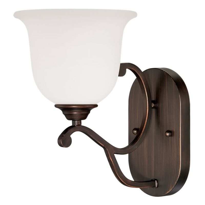 Millennium Lighting 1551 Courtney Lakes 1 Light Wall Sconce Rubbed