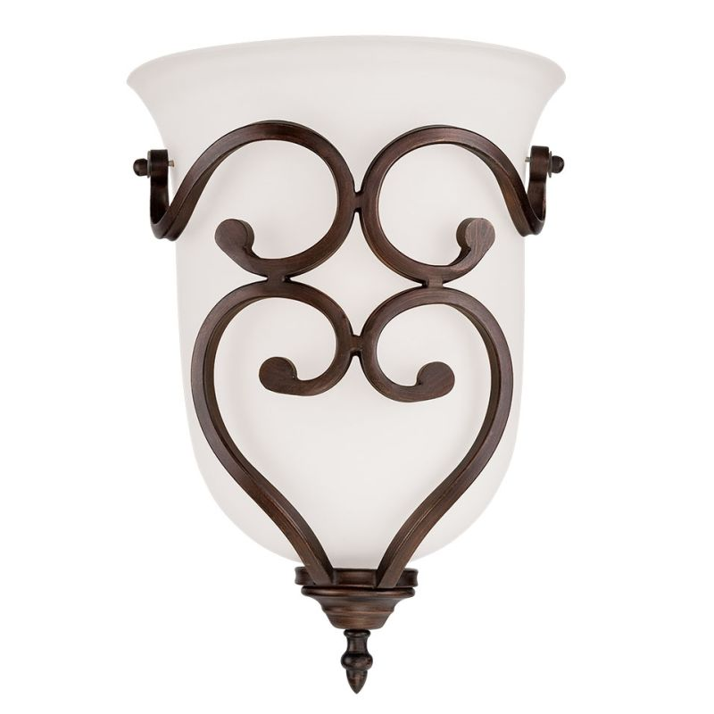 Millennium Lighting 1561 Courtney Lakes 1 Light Wall Sconce Rubbed