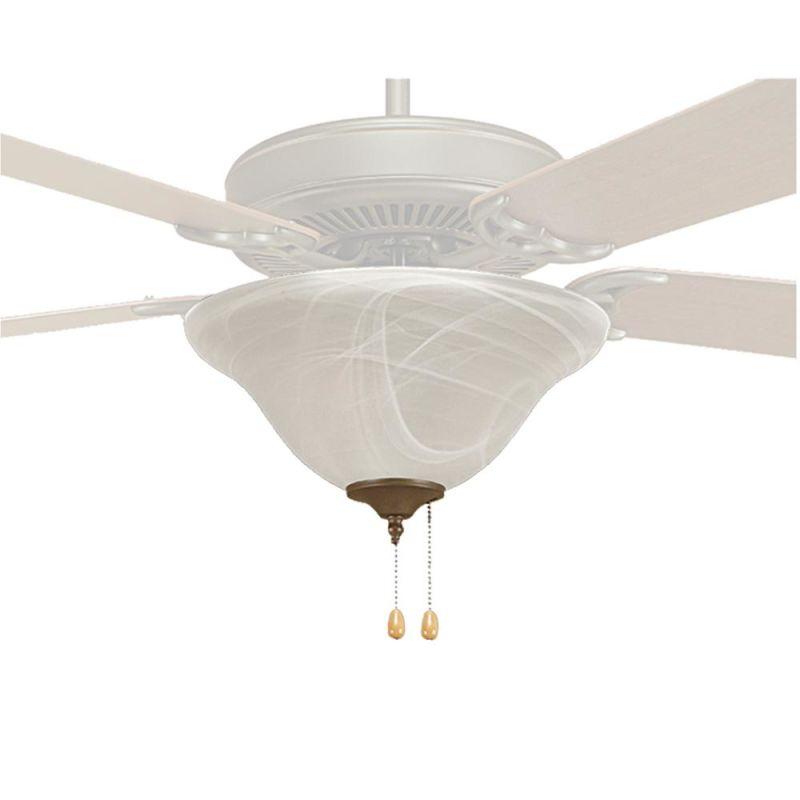 Millennium Lighting 1722 3 Light Fan Light Kit Faux Alabaster Fan