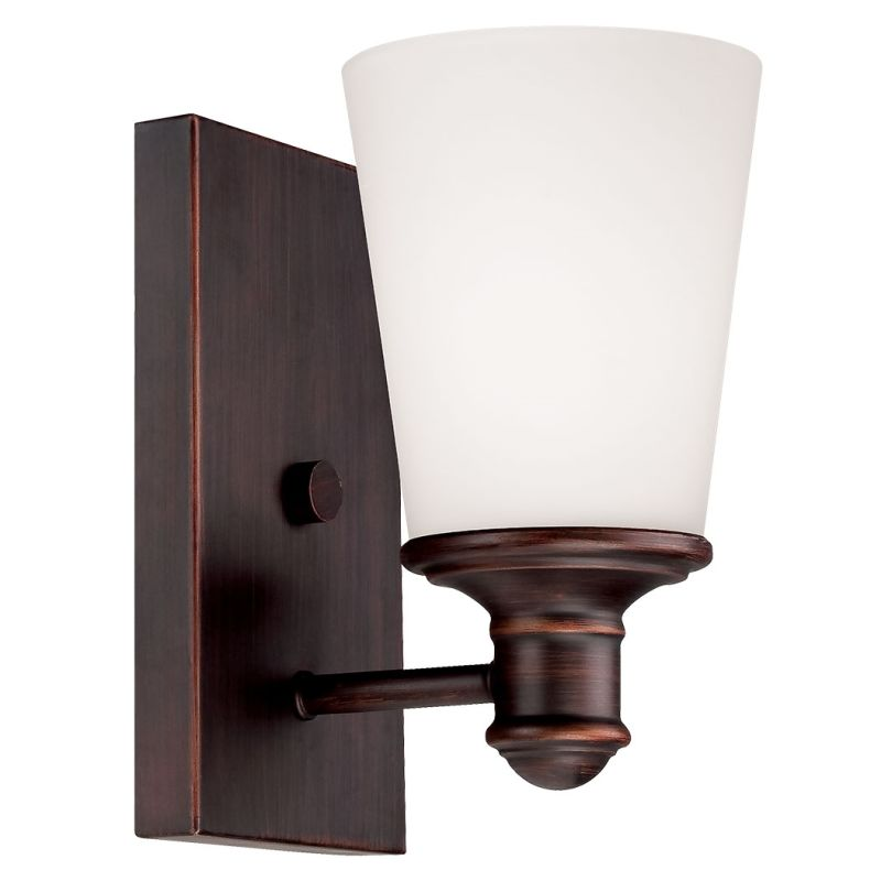 Millennium Lighting 2161 Cimmaron 1 Light Wall Sconce Rubbed Bronze