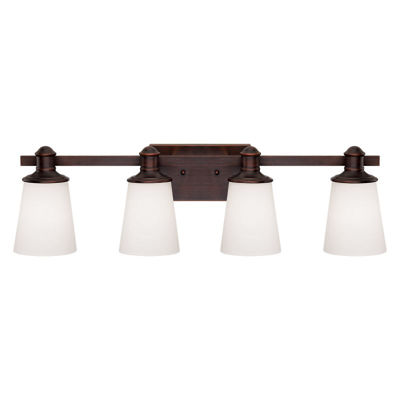Millennium Lighting 2164 Cimmaron 4 Light Bathroom Vanity Light Rubbed