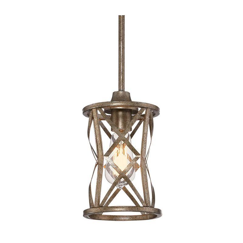 Millennium Lighting 2171 Lakewood 1 Light Mini Pendant Vintage Gold