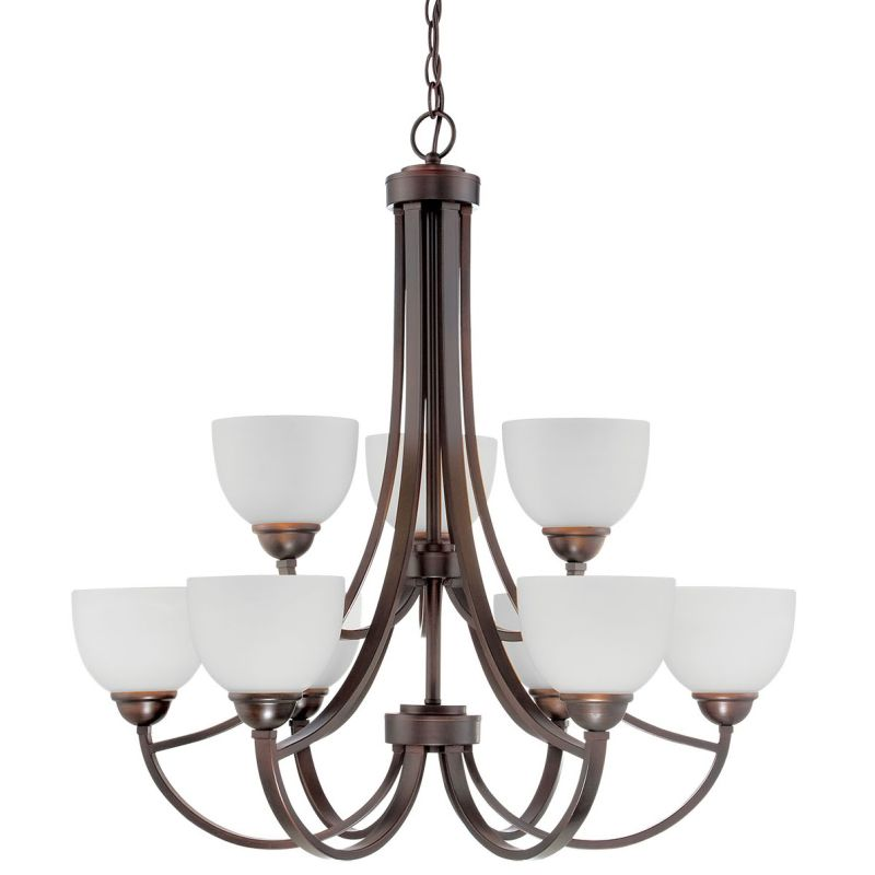 Millennium Lighting 2189 Camden 9 Light 2 Tier Shaded Chandelier Sale $369.90 ITEM: bci2671927 ID#:2189-RBZ UPC: 842639015471 :