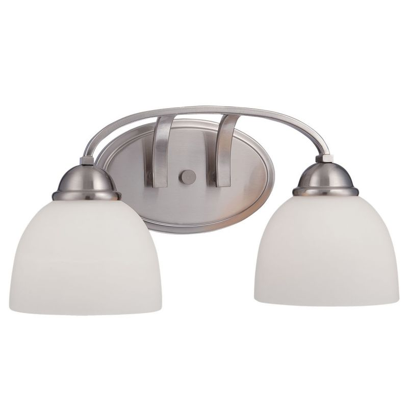 Millennium Lighting 2202 Camden 2 Light Bathroom Vanity Light Brushed Sale $79.90 ITEM: bci2671932 ID#:2202-BN UPC: 842639015624 :
