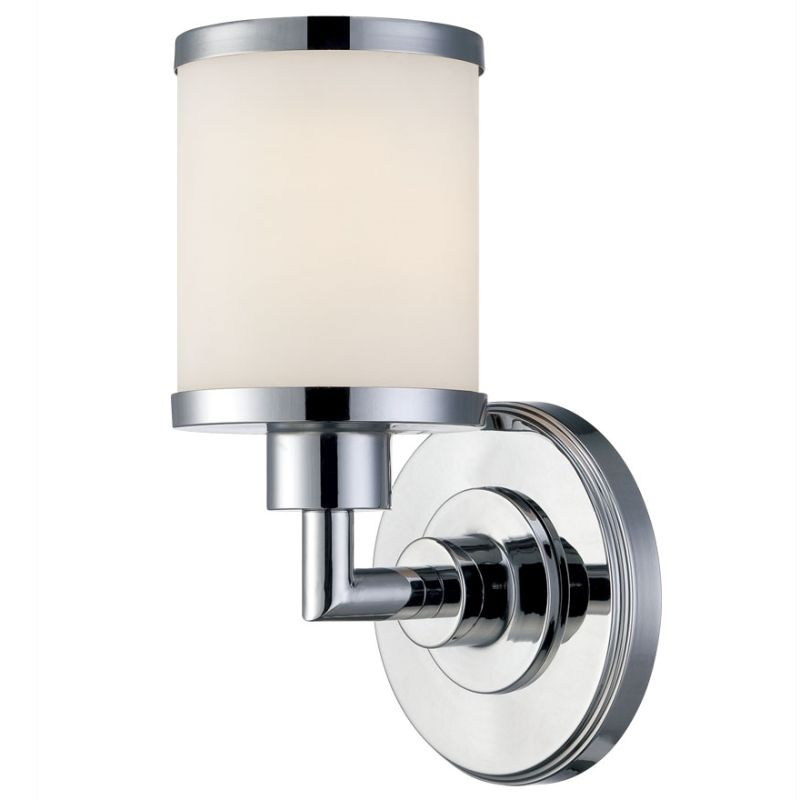 Millennium Lighting 221 1 Light Bathroom Sconce Chrome Indoor Lighting