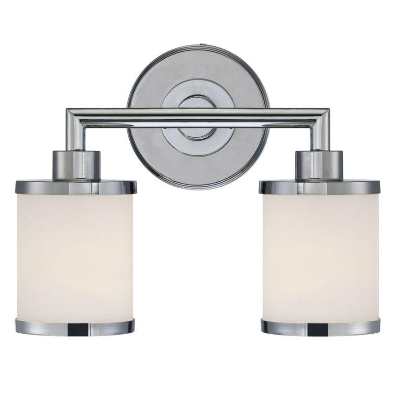Millennium Lighting 222 2 Light Bathroom Vanity Light Chrome Indoor