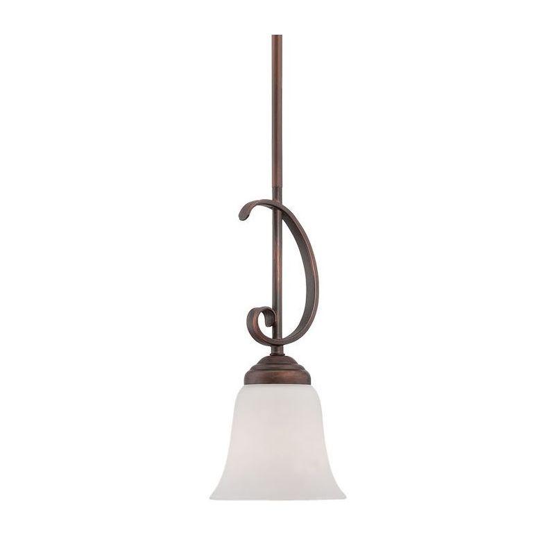 Millennium Lighting 3001 Kingsport 1 Light Mini Pendant Rubbed Bronze Sale $43.90 ITEM: bci2671938 ID#:3001-RBZ UPC: 842639014665 :