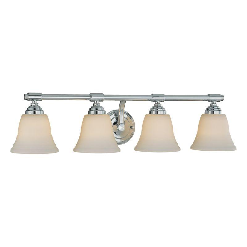 Millennium Lighting 3044 4 Light Bathroom Vanity Light Chrome Indoor