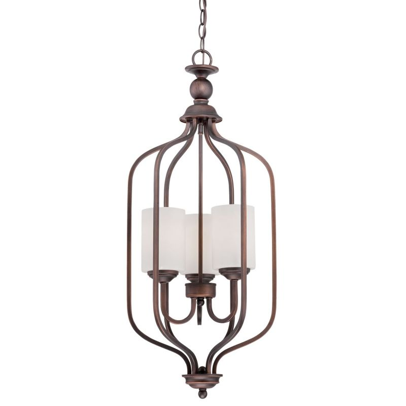 Millennium Lighting 3063 Lansing 3 Light Full Sized Pendant Rubbed Sale $145.90 ITEM: bci2671960 ID#:3063-RBZ UPC: 842639014832 :