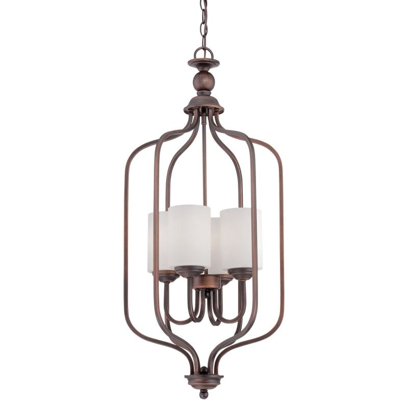 Millennium Lighting 3064 Lansing 4 Light Full Sized Pendant Rubbed Sale $165.90 ITEM: bci2671962 ID#:3064-RBZ UPC: 842639014849 :