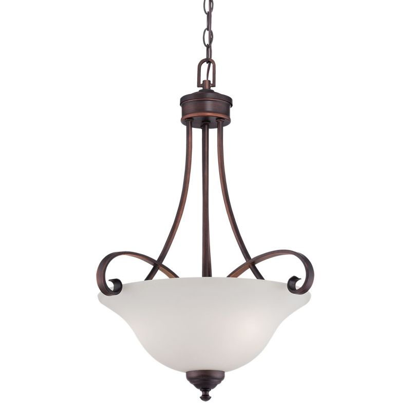 Millennium Lighting 3103 Kingsport 3 Light Full Sized Pendant Rubbed Sale $159.90 ITEM: bci2671977 ID#:3103-RBZ UPC: 842639014764 :