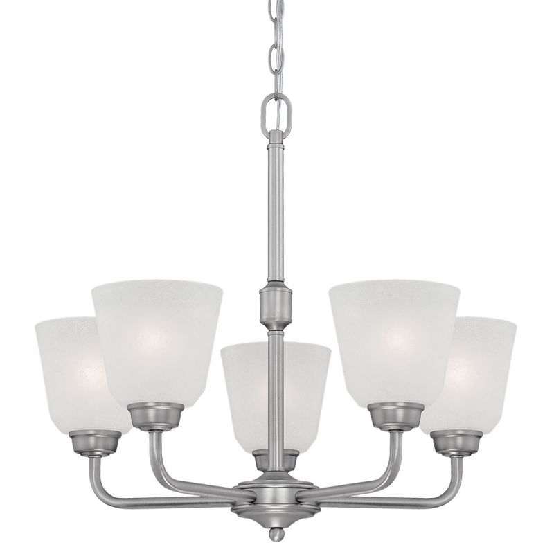 Millennium Lighting 3205 Franklin 5 Light 1 Tier Chandelier Brushed Sale $165.90 ITEM: bci2672028 ID#:3205-BPW UPC: 842639016485 :