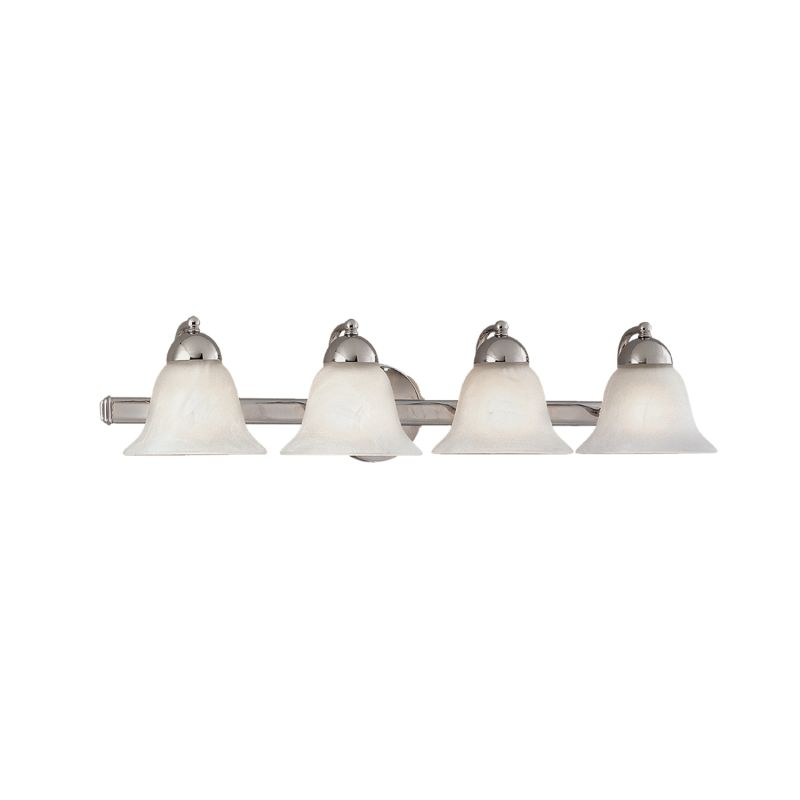 Millennium Lighting 494 4 Light Bathroom Vanity Light Chrome Indoor