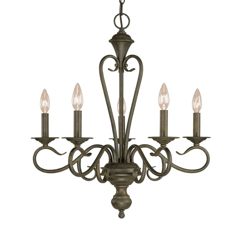 Millennium Lighting 515 Devonshire 5 Light Single Tier Chandelier