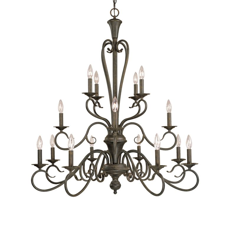 Millennium Lighting 516 Devonshire 16 Light Three Tier Chandelier