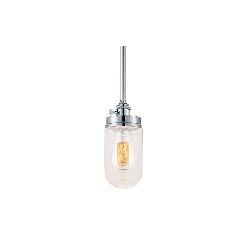Millennium Lighting 5308 Neo-Industrial 1 Light Mini Pendant Chrome Sale $99.90 ITEM: bci2353839 ID#:5308-CH UPC: 842639014115 :
