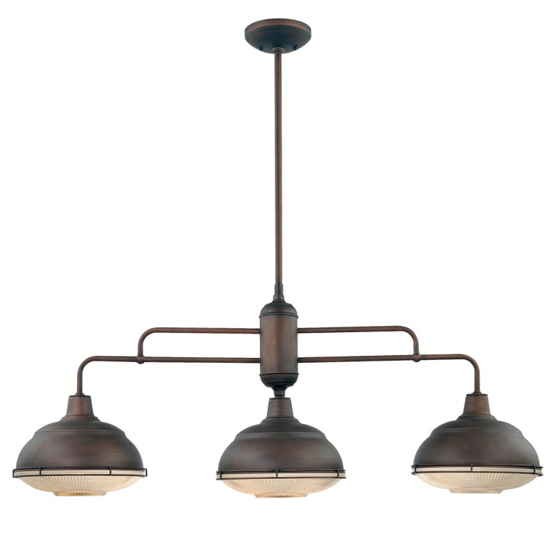 Millennium Lighting 5343 Neo-Industrial 3 Light Single Tier Linear Sale $299.90 ITEM: bci2231469 ID#:5343-RBZ UPC: 842639009708 :
