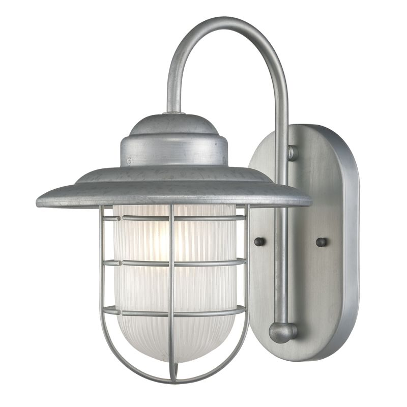 Millennium Lighting 5390 GA Galvanized R Series 1 Light Outdoor Wall Sconce
