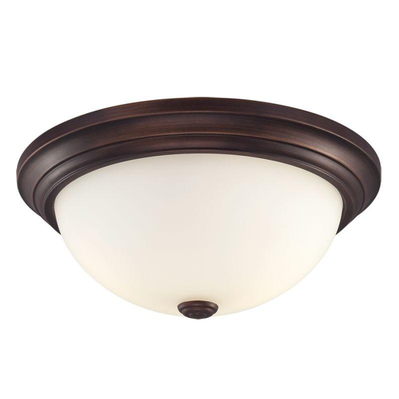 Millennium Lighting 5401 2 Light Flush Mount Ceiling Fixture Rubbed