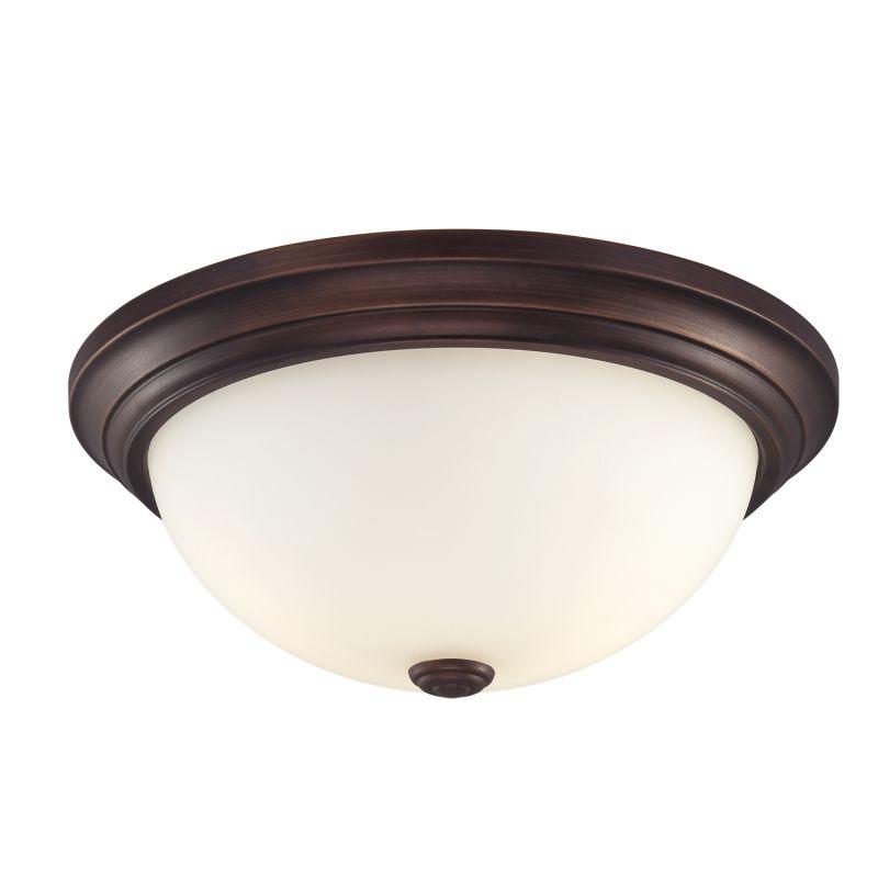 Millennium Lighting 5405 3 Light Flush Mount Ceiling Fixture Rubbed